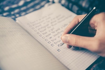 ux methods - checklist